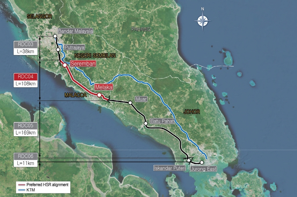 Reference Design Consultant 04 (RDC04) for the Kuala Lumpur - Singapore High Speed Rail