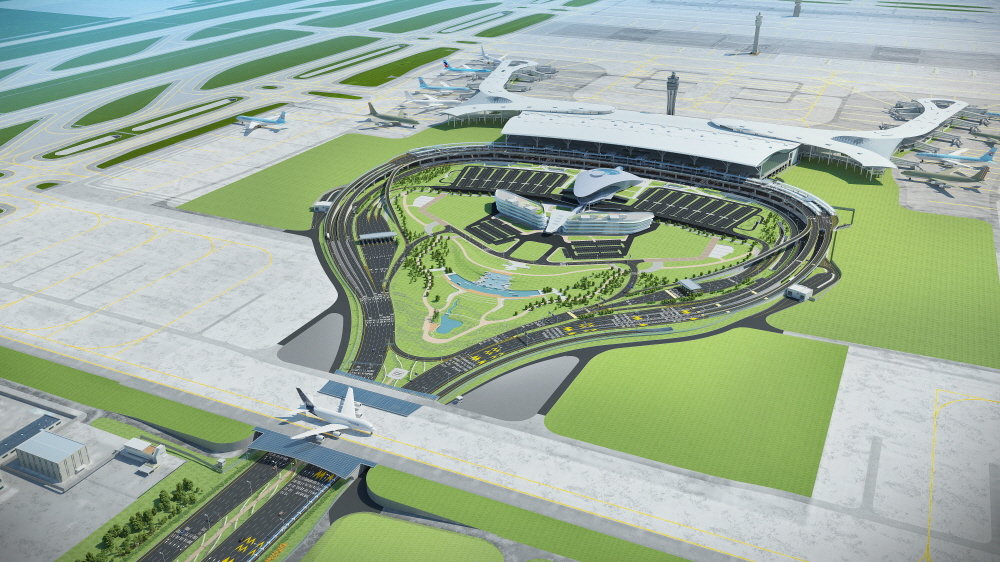 Detailed Design of the Incheon International Airport (Phase 3) Airside Facility