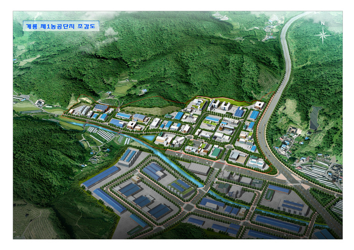 Post Environmental Impact Assessment of Gyeryong First Industrial Complex (on operation)
