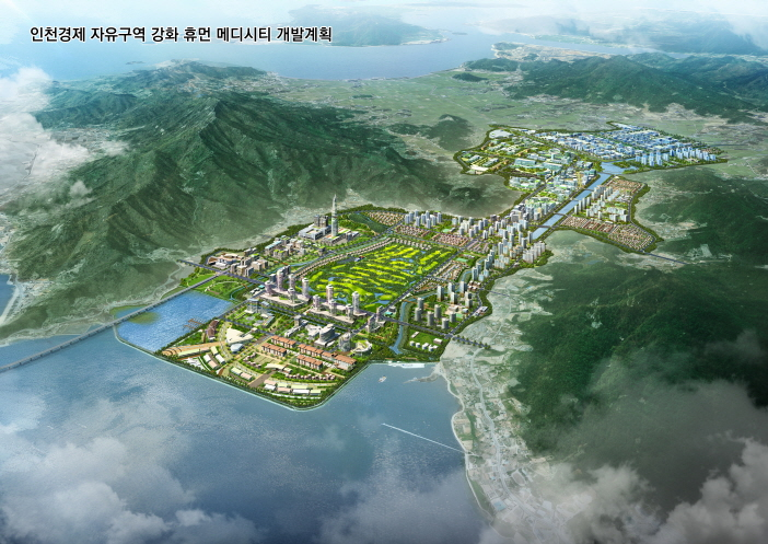 Designation of Southern Ganghwa district as free economic zone and extablishing a development plan