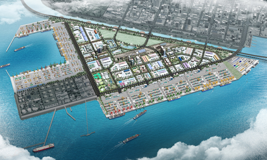 Traffic impact Imrpovment for the construction of Incheon new port complex (1st Phase)