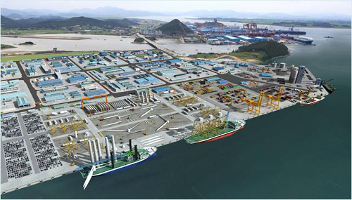 Traffic impact Imrpovment for the construction of  Mokpo new port complex