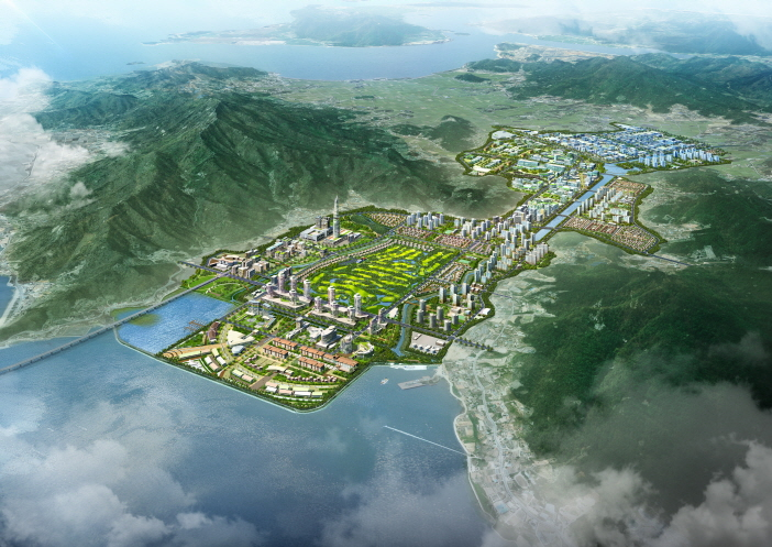 Tactical environmental impact assessment for Southern Ganghwa district free economic zone