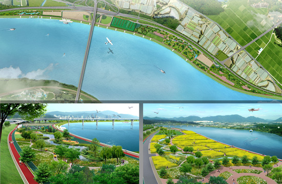 Maintenance and detailed design for echo-friendly stream at the high-water-level land by Hangang River
