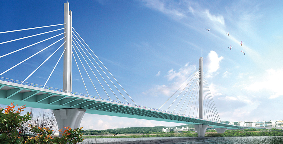 Detailed Engineering Design for Construction of Bridge Section of Boulevard No.2-44 in Daegu Metropolis
