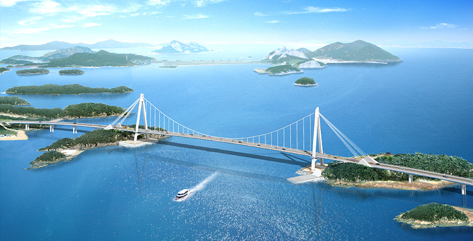Preliminary Design (T/K Project) for Construction of Connection Road for Gogunsan Islands  in Gunsan City (Lot No.2)