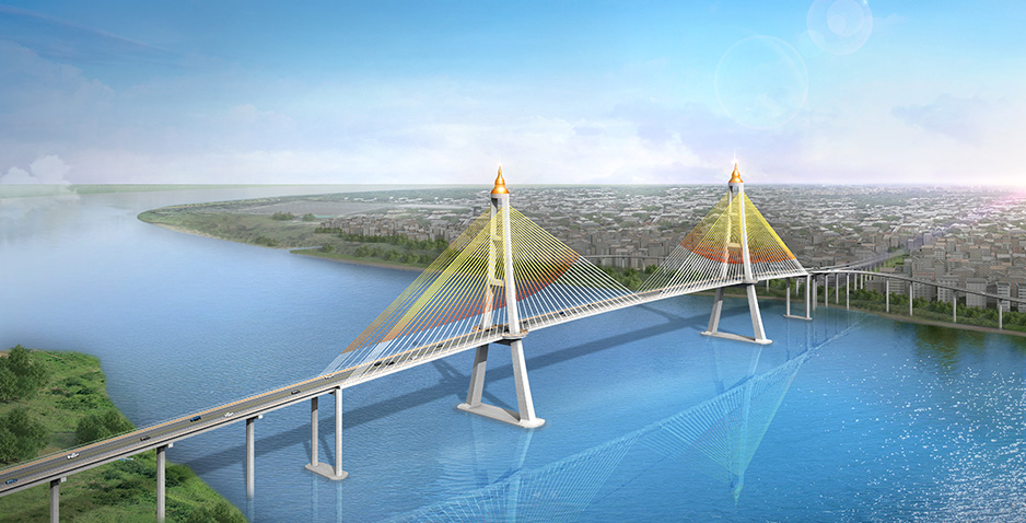 Consulting Services of Detailed Design and Construction Supervision for Korea-Myanmar Fiendship (Dala) Bridge