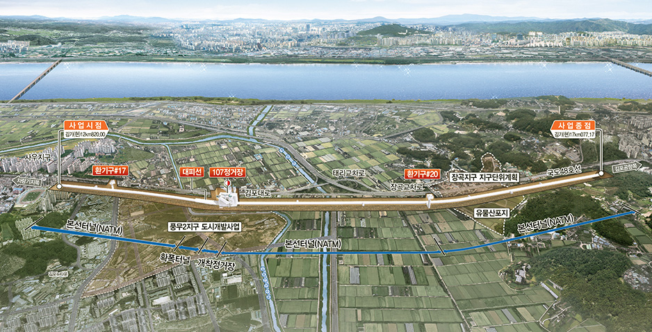 Preliminary Design (T/K Project) for Construction of Gimpo Metro (Lot No.4)