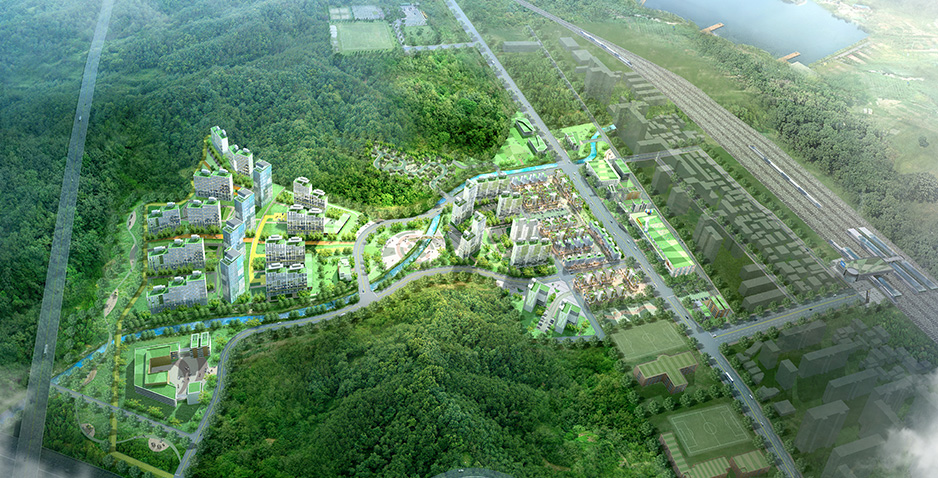 Variation of Development Plan and Detailed Engineering Design for Uiwang • Jangan Area Development Project