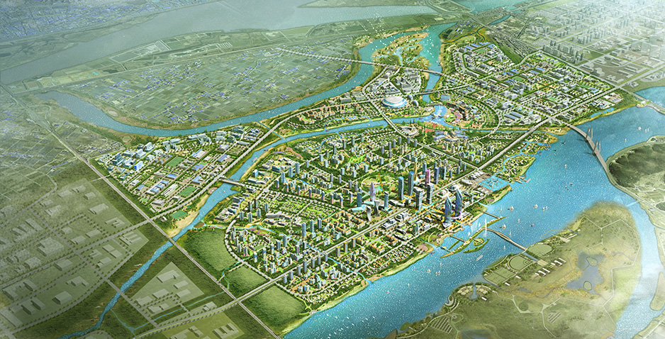 Detailed Engineering Design for Development of Eco-Delta City (Section No.1) in Busan Metropolis