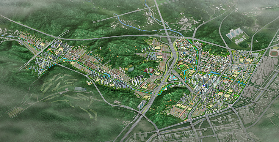 Detailed Survey and Engineering Design for Development of Residential Area in Pangyo New Town in Seongnam City