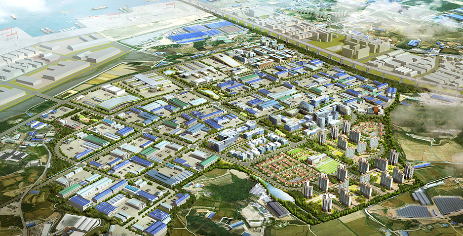 Detailed Survey and Engineering Design for Poseung Area Development in Yellow-Sea Free Economic Zone