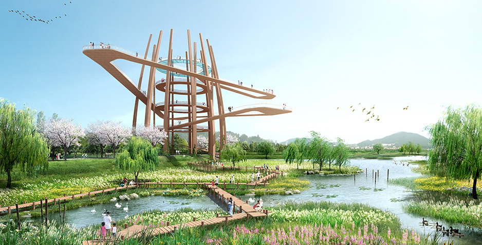 Preliminary and Detailed Engineering Design for Water-Friendly River in Hwaseong-Dongtan (2)