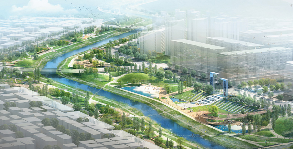 Preliminary and Detailed Engineering Design for Landscaping of Residential Area Development in Godeok International District (Phase I)