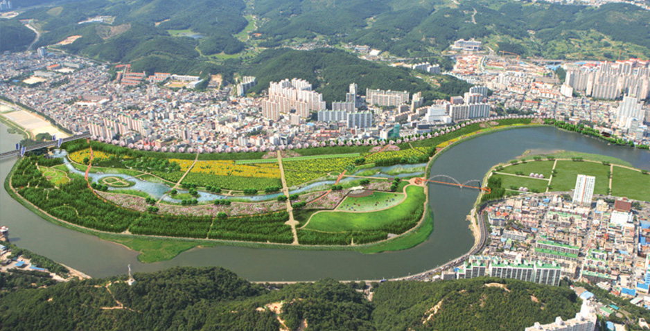 Detailed Engineering Design for Ecological Park Development of Taehwa River (Stage II-Phase I)