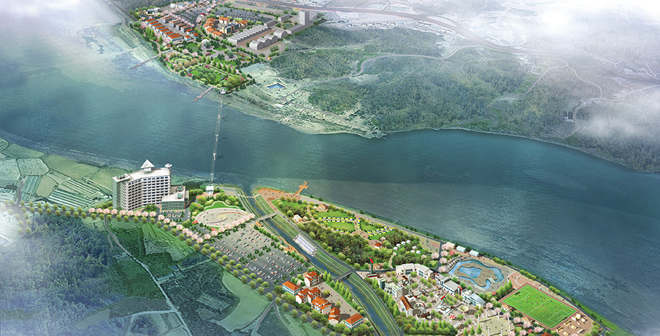 Variation of Development Plan for Tourism Center of Sinneuk Temple in Yeoju City