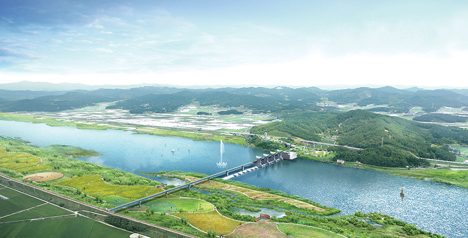 Detailed Engineering Design (T/K Project) for Restoration of Geum-River (Cheongnam District, Lot No.6)