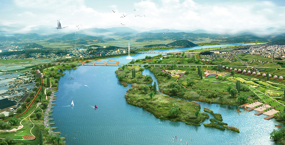 Preliminary Design for Restoration of Geum-River (Buyeo District, Lot No.5)