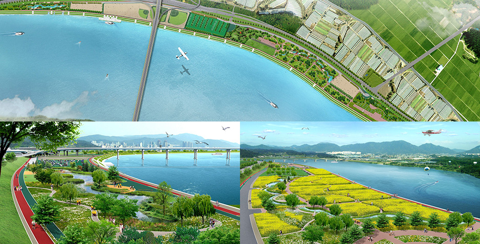 Preliminary and Detailed Engineering Design for River Restoration of Eco-Friendly Riverside for Han-River