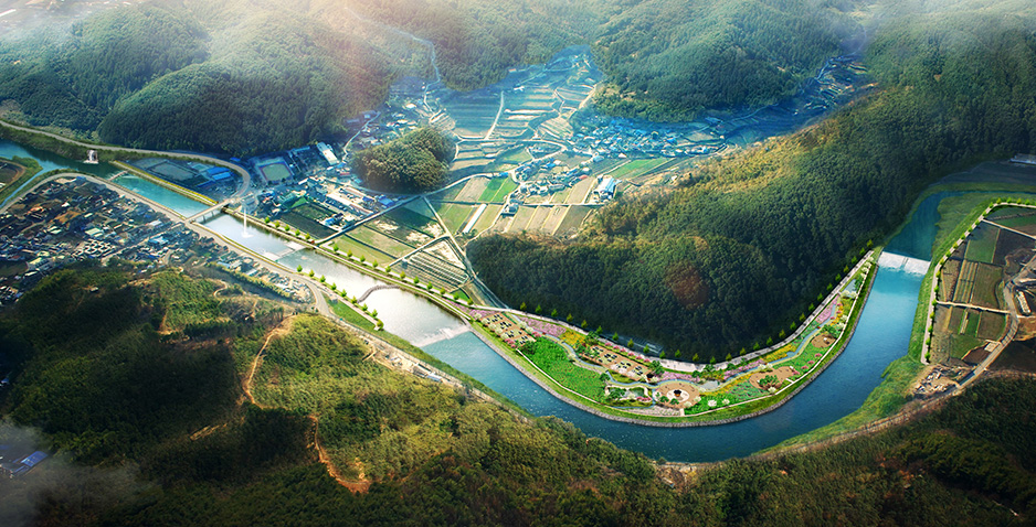 Supervision of Civil Works for Development of Hoengcheon River